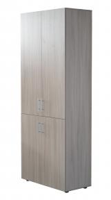 Шкаф для офиса Sanvut Ш2 Ясень шимо светлый